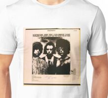 Hapshash & the Coloured Coat lp back cover 1960's,psychedelic Unisex T-Shirt