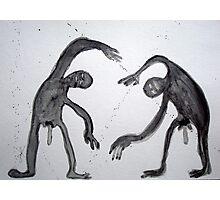 UNA PELEA (a fight) Photographic Print