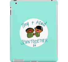 Troy and Abed Sewn Together! iPad Case/Skin