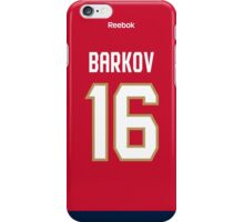 Florida Panthers Aleksander Barkov Jersey Back Phone Case iPhone Case/Skin