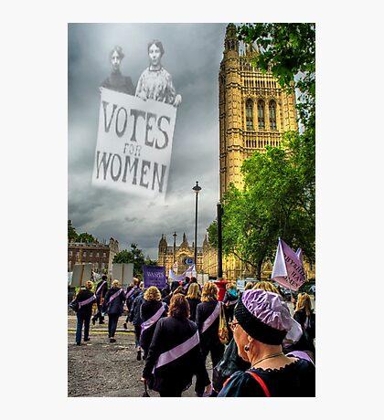 Modern Day Suffrage Photographic Print