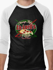 Pizza or Death! Men's Baseball ¾ T-Shirt