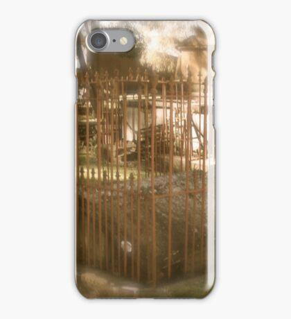 Gravestone. St Peters N.S.W. iPhone Case/Skin