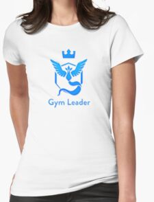 Team Mystic - Gym Leader Womens Fitted T-Shirt
