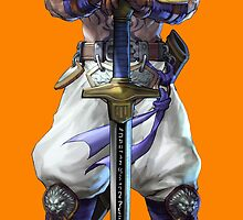 The Edgemaster of Soulcalibur V by sastrod8
