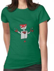 Robot Boy Womens Fitted T-Shirt
