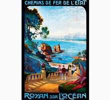 Royan sur L'Ocean, French Travel Poster Unisex T-Shirt