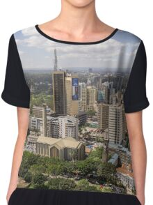 Downtown Nairobi Chiffon Top