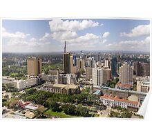 Downtown Nairobi Poster