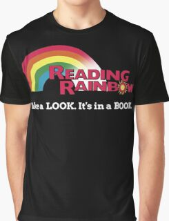 Reading Rainbow - Take A Look It's In A Book Graphic T-Shirt