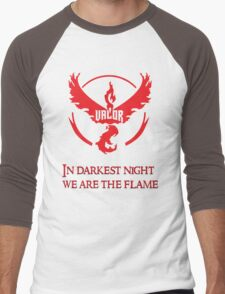 Team Valor Motto Men's Baseball ¾ T-Shirt