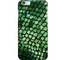 Shiny Emerald Scales iPhone Case/Skin