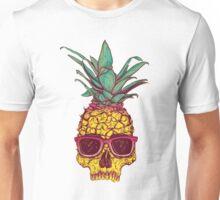 Pineapple Skull -  Hipster Pineapple -   Unisex T-Shirt