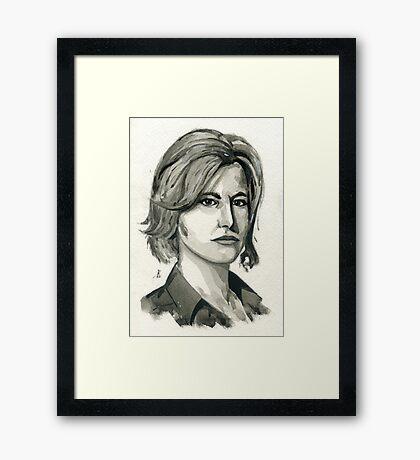 Skyler White from Breaking Bad  Framed Print