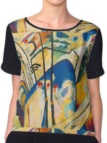 Abstract Kandinsky art Chiffon Top