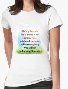 Sweet Child o Mine Womens Fitted T-Shirt