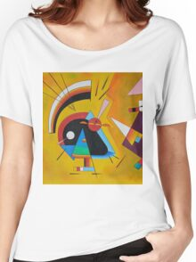 Abstract Kandinsky painting Women's Relaxed Fit T-Shirt