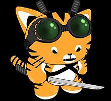 NEOTOKYO-Cyberpunk Samurai by veesama