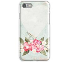 Paper grunge for congratulations iPhone Case/Skin