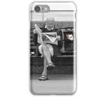 Hector watching the World go by. iPhone Case/Skin