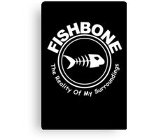 Fishbone The Reality of My Surroundings Rock Black 2 Canvas Print