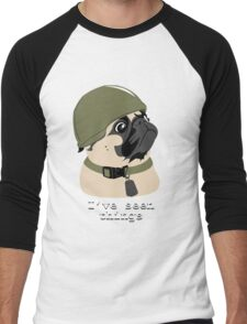 Pug of War Men's Baseball ¾ T-Shirt
