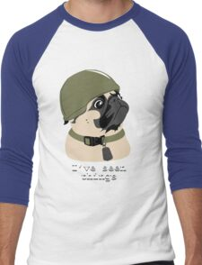 Pug of War Men's Baseball ¾ T-Shirt