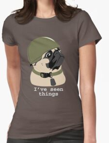 Pug of War Womens Fitted T-Shirt