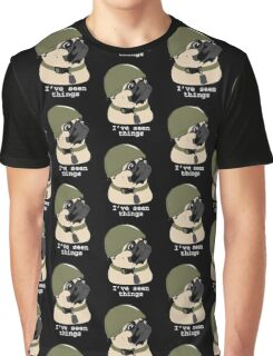 Pug of War Graphic T-Shirt
