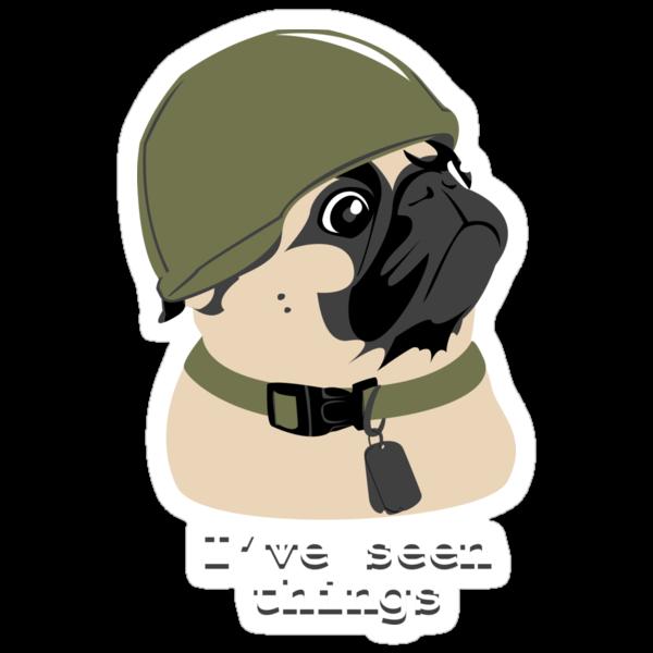 Pug of War by Turlguy
