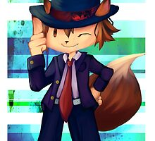 Foxy Mobster  by konazumi
