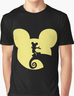 Mickey Skellington Graphic T-Shirt