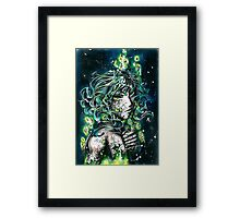 Poison in person Framed Print