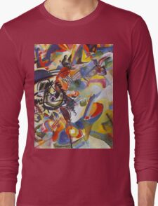 Colourful Detailed Kandinsky painting Long Sleeve T-Shirt