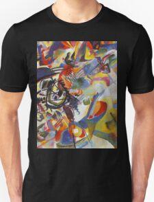 Colourful Detailed Kandinsky painting Unisex T-Shirt