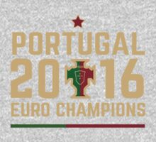 Portugal Euro 2016 Champions T-Shirts etc. ID-2 One Piece - Short Sleeve