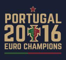 Portugal Euro 2016 Champions T-Shirts etc. ID-2 Kids Tee