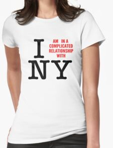 Do I love NY? Womens Fitted T-Shirt