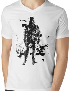 Big Boss MGS3 Mens V-Neck T-Shirt