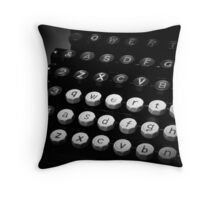 Querty Throw Pillow