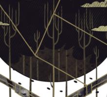 The Dark Woods Sticker