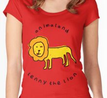Lenny the Lion Women's Fitted Scoop T-Shirt