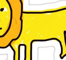 Lenny the Lion Sticker