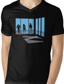Life Moves Pretty Fast Mens V-Neck T-Shirt