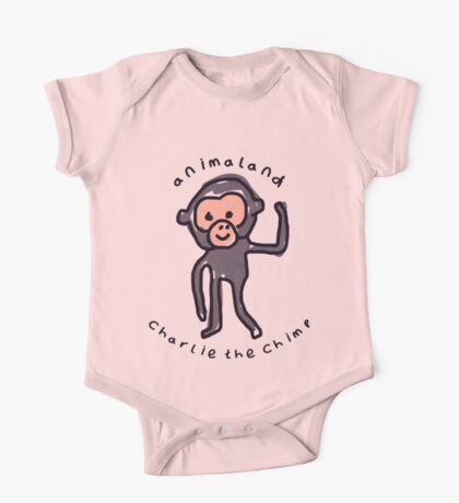 Charlie the Chimp One Piece - Short Sleeve