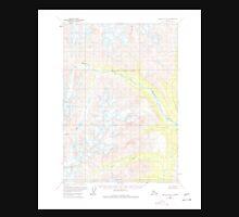 USGS TOPO Map Alaska AK Lime Hills B-1 357024 1958 63360 Unisex T-Shirt