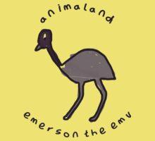 Emerson the Emu Kids Tee