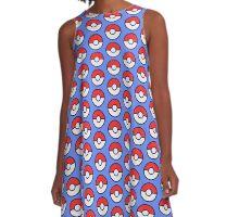 Pokeballs and balls and balls A-Line Dress