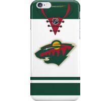 Minnesota Wild Away Jersey iPhone Case/Skin