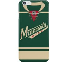 Minnesota Wild Alternate Jersey iPhone Case/Skin